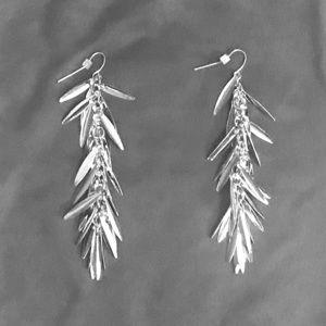 NY&Co. silver drop earrings
